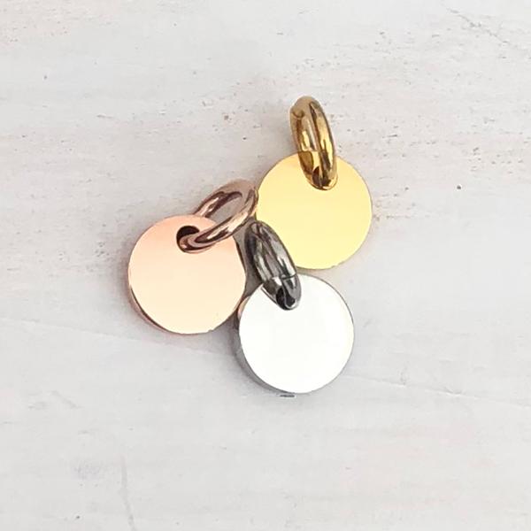 Mini Round Pendant